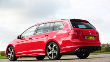 Volkswagen Golf R Estate rear quarter