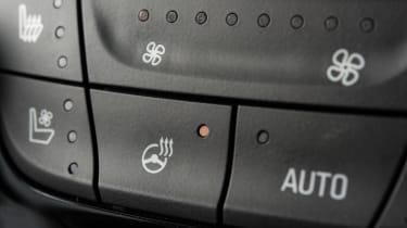Ultimate trim centre console button