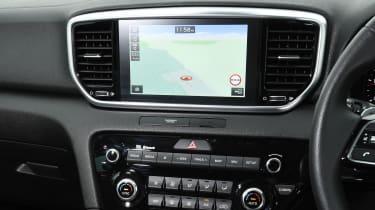 kia sportage 48v hybrid infotainment