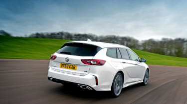 Vauxhall Insignia GSi Sports Tourer - rear tracking