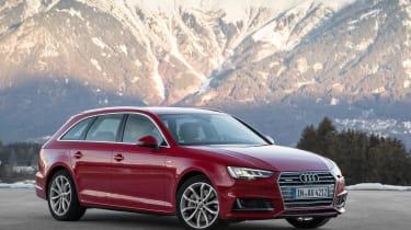 Audi A4 quattro - front static