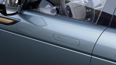 New 2019 Range Rover Evoque door handles