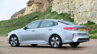 Kia Optima PHEV - rear static