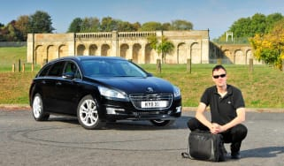 Peugeot 508 SW and Graham Hope
