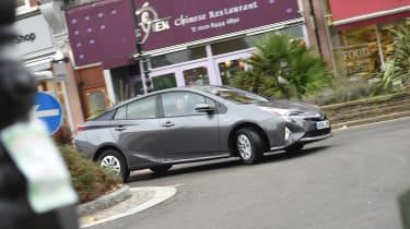 Toyota Prius long-termer - cornering