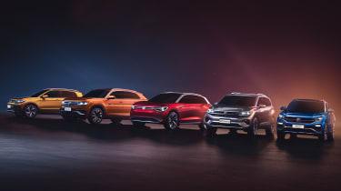 Volkswagen SUV line-up Shanghai