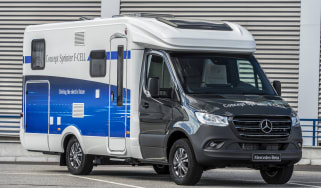 2018 Mercedes Concept Sprinter F-CELL camper van