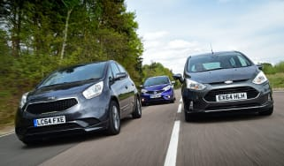 Kia Venga vs Ford B-MAX & Nissan Note
