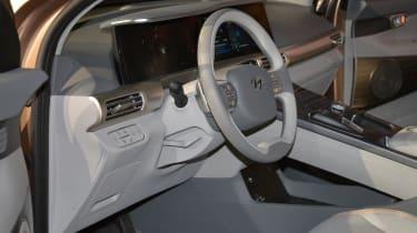 Hyundai NEXO - CES dash