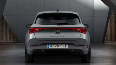 Cupra Leon Estate - rear static
