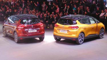 Renault Scenic Geneva - rear