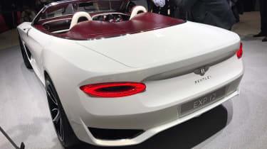 Bentley EXP 12 Speed 6e - Geneva rear