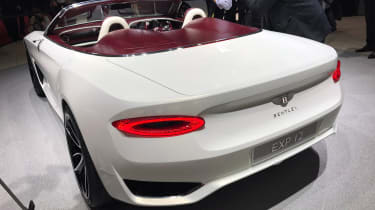Bentley EXP 12 Speed 6e - Geneva rear
