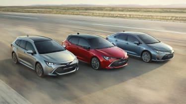 Toyota Corolla - range