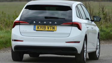 Skoda Scala - long termer rear action