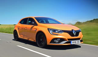 Renault Megane RS - front action