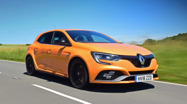 Renault Megane RS - front action