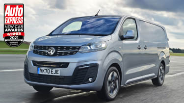 Vauxhall Vivaro-e - New Car Awards 2021