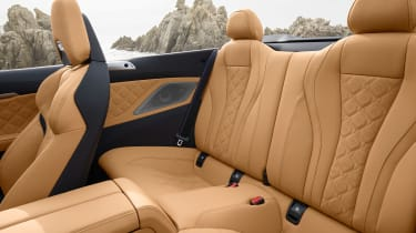BMW M8 Competition Convertible - rear seats