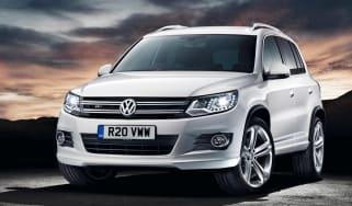 Volkswagen Tiguan R-Line front