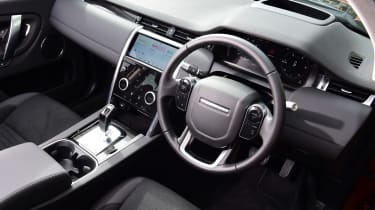 Land Rover Discovery Sport D180 first report - dash