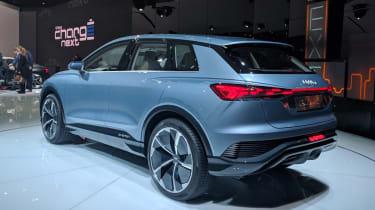Audi Q4 e-tron concept - Geneva rear