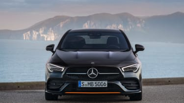 Mercedes CLA - full front static