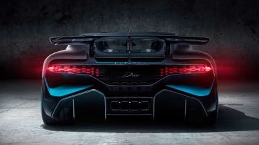 Bugatti Divo - full rear