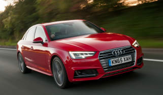 Audi A4 S Line - front tracking