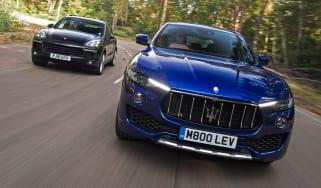Maserati Levante vs Porsche Cayenne - header