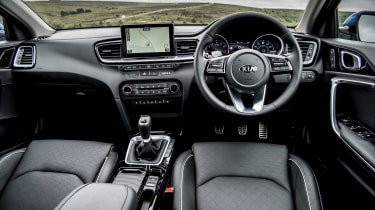 New Kia Ceed UK interior