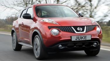 Nissan Juke n-tec front tracking