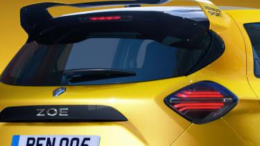 Renault ZOE RS - rear detail (watermarked)