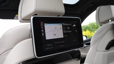 BMW 745Le xDrive - rear infotainment