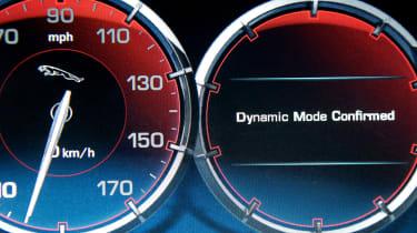 Jaguar XJ AWD dials