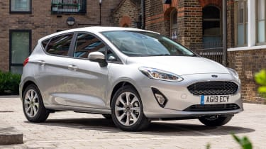 Ford Fiesta Trend - front 3/4 static