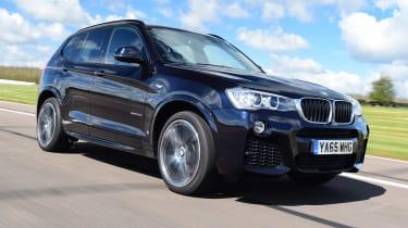 BMW X3 - front