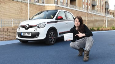 Renault Twingo long-termer - Third Report header
