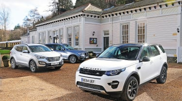 Land Rover Discovery Sport vs rivals