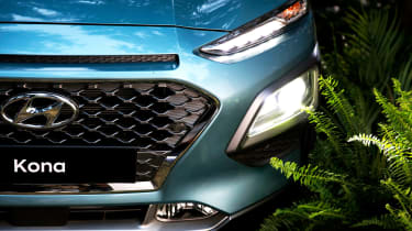 Hyundai Kona - front detail