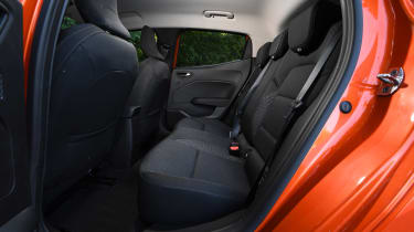 Renault Clio Long termer - rear seats