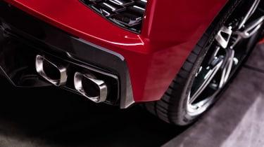 Chevrolet Corvette - exhausts