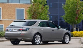 Saab 9-5 Sportwagon rear three-quarters