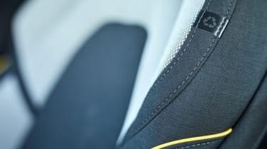 Volvo XC60 recycled plastic seat fabric