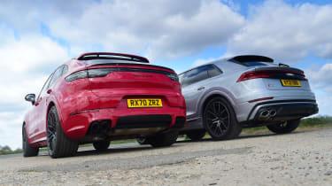 Audi SQ8 vs Porsche Cayenne Coupe GTS