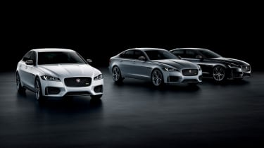 Jaguar XE and XF launched - group