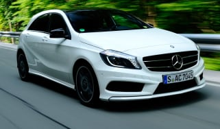 Mercedes A-Class front tracking