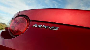 Mazda MX-5 RF - MX-5 badge