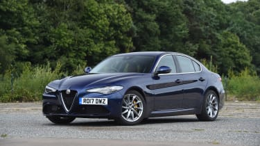 Alfa Romeo Giulia long term test - first report front static