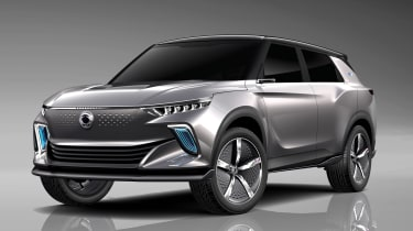 SsangYong e-SIV concept - front